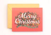 inspiration / greetings and seasonal