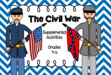 Civil War Activities / by Whitney Cline