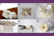Wedding Hair Pieces / by Amanda Orleman