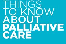 Palliative Care / Palliative care provides support to patients with a serious, long-lasting condition or a life-threatening illness.