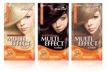 Multi Effect / W poniedziałek blondynka, we wtorek szatynka, w piątek brunetka! Kobieta zmienną jest. Jeśli chcesz poszaleć z kolorami nie niszcząc włosów, gama szamponetek koloryzujących Multi Color Effect to opcja właśnie dla Ciebie!