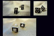 MetalomorfosiS Ηandmade earrings / Handmade silver earrings