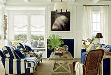 Blue And White / Costal Home