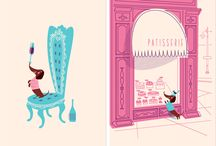 Paris for Kids Style  / Patterns & Illustrations  / by Boatman Geller