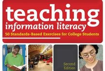 Library Shelf - Information Literacy / Information literacy resources - books / by {living outside the stacks}