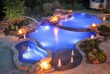 Natural edge pools