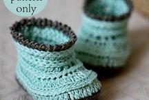 Crochet booties for children / by Maggi Thrasher Burns