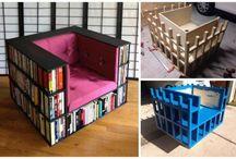 bookshelves diy