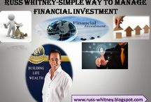 Russ Whitney-Simple Way To Manage Financial Investment