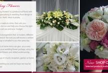 just wedding flowers