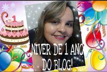 Niver de 1 ano do blog!!