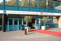 Regio College / ik zit op het Regio College in Purmerend. ik doe marketing&communicatie (4) versneld in 2 jaar.