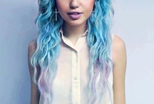 Coloured hair / Follow me