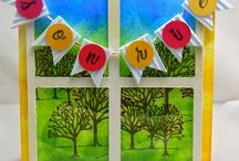 cards / Tarjetas hechas por mi