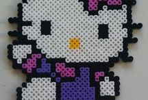 Perler bead designs / by Kimberly Gruening Haugen