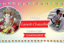 Ganesh Chaturthi / Visit Bring Home Festival to buy pooja items online like Ganesha idols, Ganesha Pooja Kit, flowers & patras, sweets, fruits, banana leaves & stem for Ganesh Chaturthi
