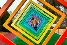 Creative Outdoor Spaces for Kids / Playgrounds, parks