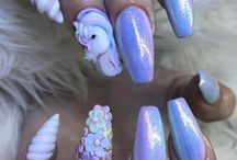 Nails♡ Unicorn♡