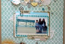 Layout Ideas / Scrapbooking Layouts created by Crafts Direct.