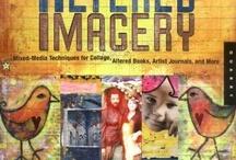 mix media collage