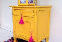 colorful furnitures