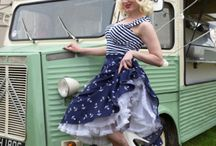 Ahoy! Nautical Pinup Style! / Nautical is one of our favourite styles! So summery and care free!  Check out Miss Fortune nautical styles from over the years.