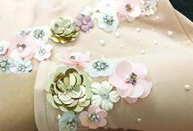 sequins, pearls & hands