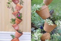 Ideas for small gardens ... Vertical gardening