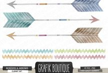 Arrows / Find beautiful arrow clip art designs and patterns