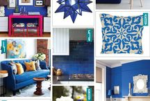 Be Blue: Home Decor / Blue Home decor is not just for little boys anymore!