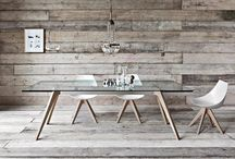 Reclaimed Wood Wall / JNKM works directly with local wood shops and manufacturers to salvage and reclaim all natural hardwood to provide sustainable wall covering solutions reducing the use of new raw resources. Contact us at info@jnkmdesign.com or visit www.jnkmdesign.com for more info.