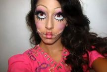 Scary Doll Make-up