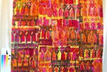 Denise Williams - Textile21.co.uk / Denise Williams / Contemporary Machine Embroiderer