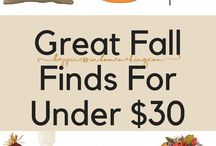 Seasonal Decor / Fall Decor  Fall Decorating White Pumpkins Christmas Decorations  Wreaths