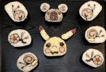 Food   SushiArt??(0_o) / by Alecia Booysen