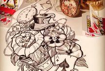 Absorbing drawings