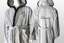 Roupões Personalizados - Personalized bathrobes / Roupões personalizados com bordado