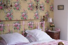 English Floral Bedroom / A place to relax, unwind and escape the day.