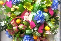 Nancy Alexander ~ Ladybug Wreaths