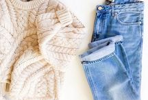 Knitwear outfit