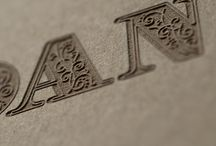 Typography / Inspiration through Type.