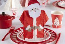 Table de Noël pour les enfants