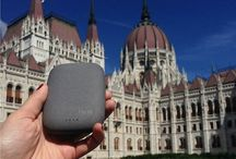 QiStone around the World / QiStone - Elegant Portable Wireless Charging Battery that allows you to charge any Qi-enabled device on the go.