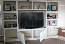 DIY Entertainment Center Plan ideas