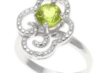 August Peridot / You'll be green with envy over August's birthstone: Peridot!