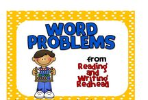 Word Problems / Ideas and resources for teaching word problems - Reading and Writing Redhead