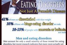 Men Get Eating Disorders Too / by Carey Cronin