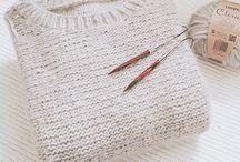Hand-knitted || Crochet