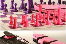 Girls Chess Sets / Chess sets for young girls, toddlers and teens.
