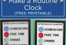 Clock Routine